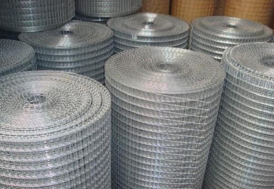 Durable Concrete Reinforcing Mesh , Welded Metal Mesh Panels 0.5-8mm Wire Gauge